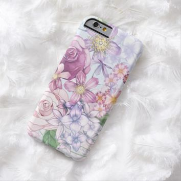 Claire Blossom Beautiful flower Barely There iPhone 6 Case