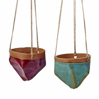 Valley Hanging Planter | cermanic planters