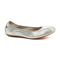 Hush Puppies Chaste Ballet Flats - Silver Snake