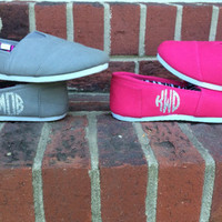 Fuchsia Monogram Canvas Shoes