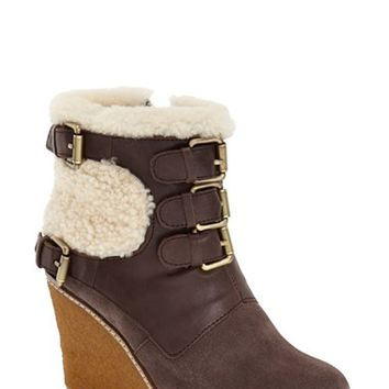 Australia Luxe Collective 'Monk' Genuine Calf Hair & Shearling Boot (Women) | Nordstrom