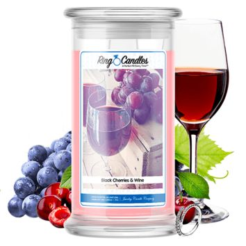 Black Cherries & Wine Ring Candle®