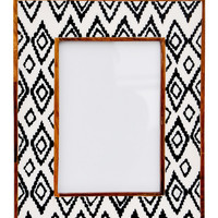 Ikat Diamond Picture Frame