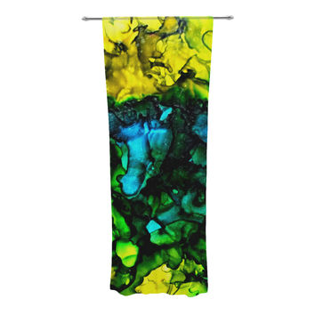 """Claire Day """"Ariel"""" Decorative Sheer Curtain"""