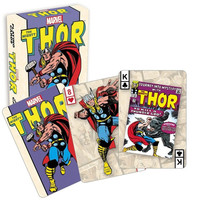 The Mighty Thor Old School Marvel Playing Cards