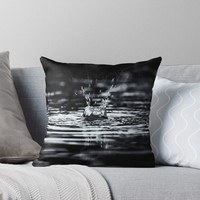 'Summer Storms' Throw Pillow by Karen Stahlros