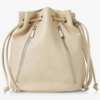 DRAWSTRING BUCKET BAG from EXPRESS