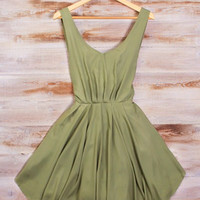 sirenlondon — Graceful Green Dress