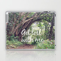 GET LOST in the ENCHANTED FOREST  Laptop & iPad Skin by Tara Yarte