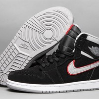 Air Jordan 1 Retro OG HG - Black Cement