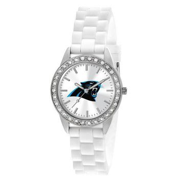 "Carolina Panthers NFL Women's Frost Series"" Watch"""