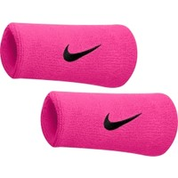 Nike Breast Cancer Awareness Swoosh Doublewide Wristbands | DICK'S Sporting Goods