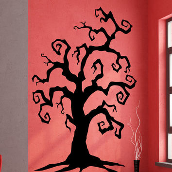 Vinyl Wall Decal Sticker Spooky Branches Tree #5309