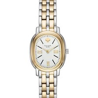 staten two gold-tone stainless steel bracelet watch