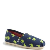 TOMS 'Classic - Elephant' Slip-On (Women)