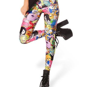 Adventure Time Leggings Kawaii Clothing Costume Yoga Pants Lumpy Space Princess Tights Not Shoes Shirt Leg Sock Dress Plush Pin Poster Sword