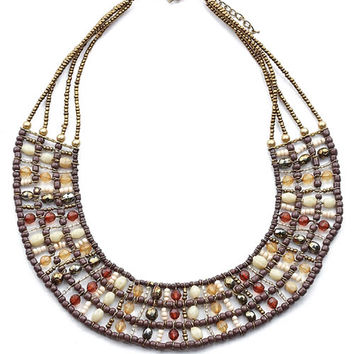 Bead Chamber Necklace