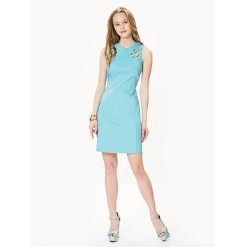 Cotton A-Line Dress