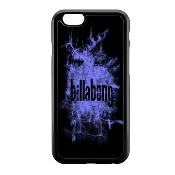 billabong blue smoke iPhone 6 Case