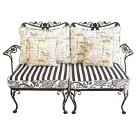 Pre-owned Outdoor/Indoor French Country Style Woodard Settee