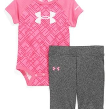 Under Armour AllSeasonGear® Bodysuit & Pants (Baby Girls) | Nordstrom