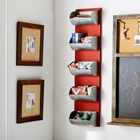 Vintage Metal Bin Storage Rack | Pottery Barn Kids