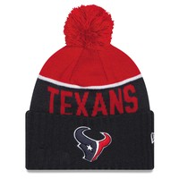 Houston Texans New Era 2015 NFL Official Sideline Sport Knit Hat