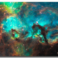 "Galaxy Space Stars Nebula Art Silk Poster Print 12x18 24x36"" Universe Landscape Pictures For Bedroom Living Room Decor 029"