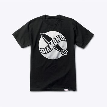 Diamond Supply Co Blimp Tee in Black
