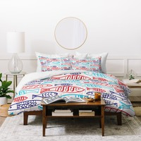 Zoe Wodarz Catch Of The Day Duvet Cover