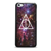 Harry potter Deathly Hallows Galaxy Nebula Iphone 5c Cases