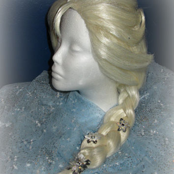 Elsa, the Snow Queen from Disney's Frozen Inspired High Quality Couture Wig