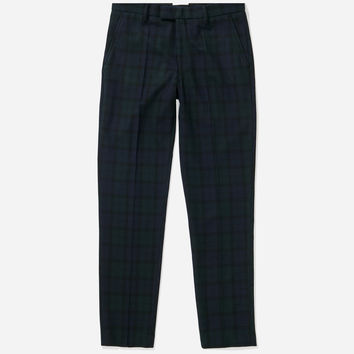 Panos Check Trouser, Black Watch | Saturdays NYC