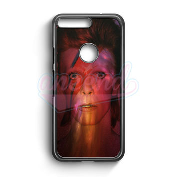 David Bowie Galaxy Google Pixel Case | aneend.com