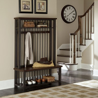 Home Styles Furniture 5411-49 Cabin Creek Hall Tree