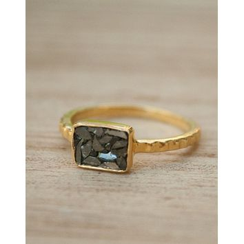 Black Diamond Ring (BJR120C)