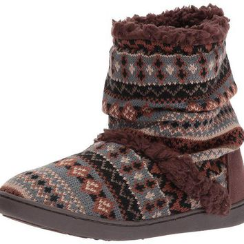 DCCKNY1 Muk Luks Women's Holly Moccasin Slipper