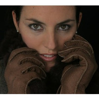 Lady's Classic Alpaca Lined Peccary Leather Gloves