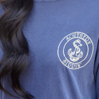 RESTOCK: Southern Sippin' Anchor: Navy | Hope's