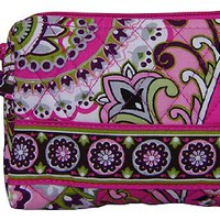 Vera Bradley Small Cosmetic (Very Berry Paisley)