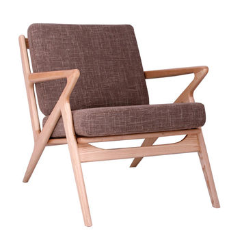 Jet Accent Chair LATTE - NATURAL