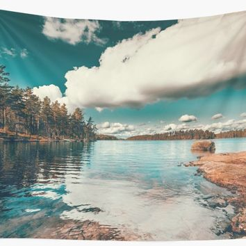 'Belle Svezia' Wall Tapestry by happymelvins