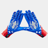 Men's Under Armour Alter Ego Spider-Man Highlight Football Gloves | 1249945 | Under Armour US