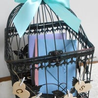 Large Wedding Birdcage Card Holder / Wedding Card Box / Wedding Birdcage