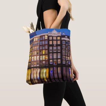 Traditional Dutch Architecture Tote Bag