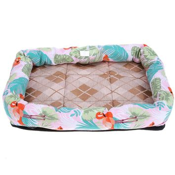 Waterproof Lovely Pets Dog Bed for Animals Dog Beds Puppy  House Dog Mat Soft Kennel Cat Nest Cushion Mat Pad