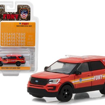 2016 Ford Explorer Fire Department City of New York FDNY Squad Number 1:64