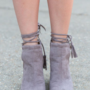 Western Winds Heels, Taupe
