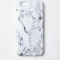 Missguided - White Marble iPhone 6/6S Case