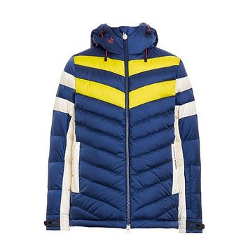Perfect Moment - Kids' Chatel Navy Yellow Snow White Jacket
